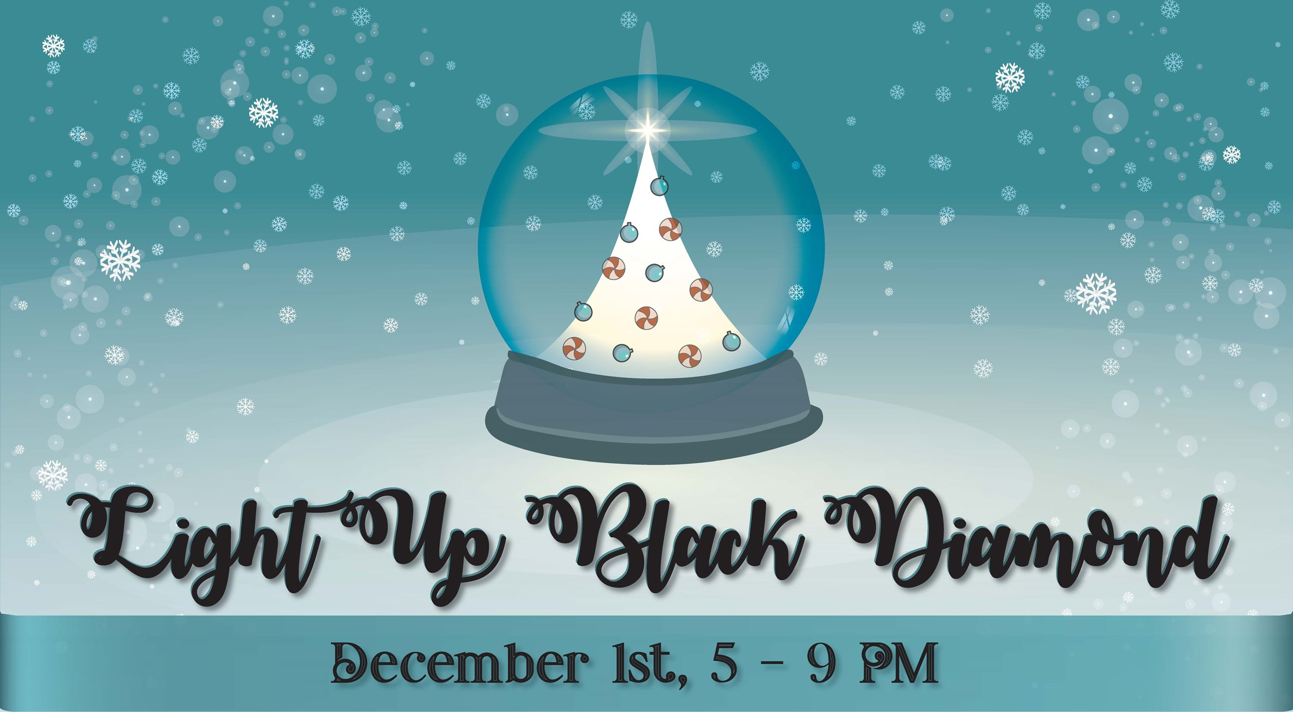 Light Up December 1, 5 to 8 pm