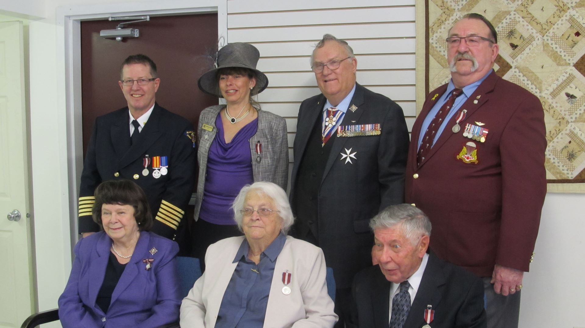 5 Recipients With Their Honours